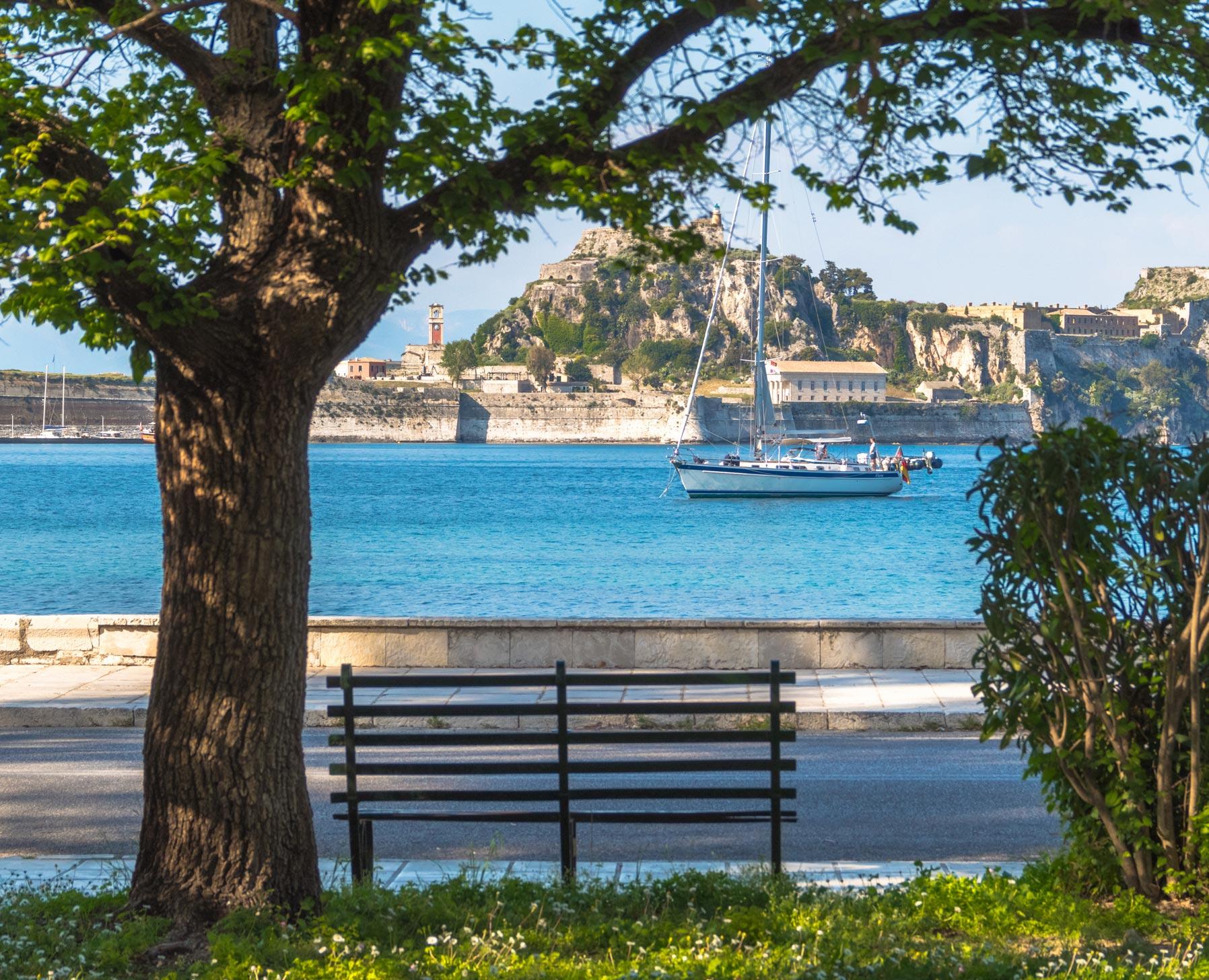 corfu homes garitsa view