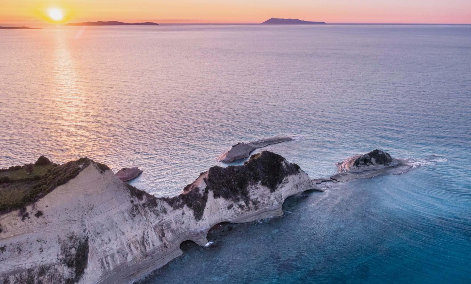 corfu homes island